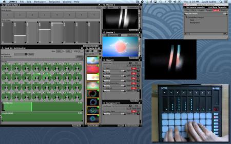 Livid Base VDMX Video Synth